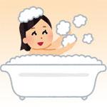 お風呂で足首から脹脛をマッサージ