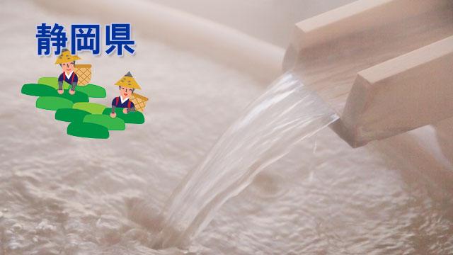 静岡県のスーパー銭湯・スパ・サウナ