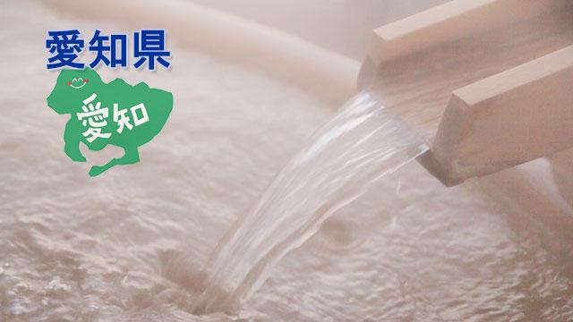 愛知県のスーパー銭湯・スパ・サウナ